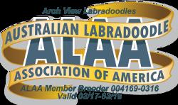 Archview Labradoodles, LLC 2017 ALAA Logo